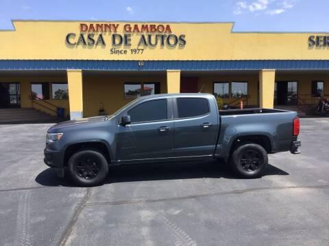 2015 Chevrolet Colorado for sale at CASA DE AUTOS, INC in Las Cruces NM
