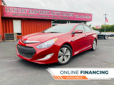 2015 Hyundai Sonata Hybrid for sale at LUXURY IMPORTS AUTO SALES INC in North Branch MN
