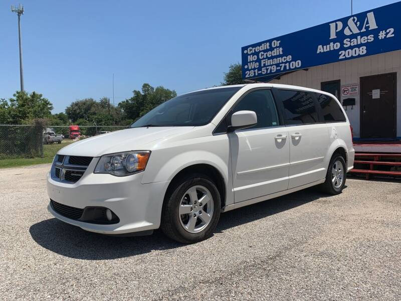 2012 Dodge Grand Caravan for sale at P & A AUTO SALES in Houston TX