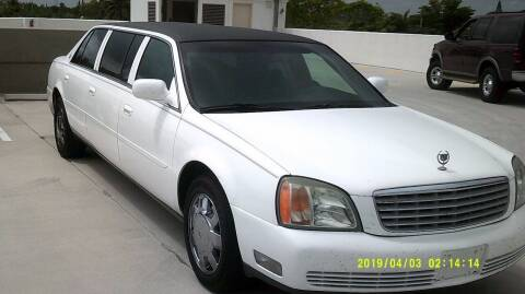 2002 Cadillac Deville Professional for sale at LAND & SEA BROKERS INC in Deerfield FL