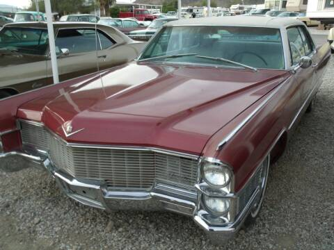 1965 Cadillac DeVille for sale at Collector Car Channel - Desert Gardens Mobile Homes in Quartzsite AZ