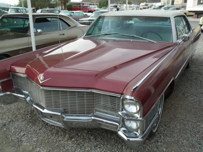 1965 Cadillac DeVille for sale at Collector Car Channel - Desert Gardens Mobile Homes in Quartzsite AZ