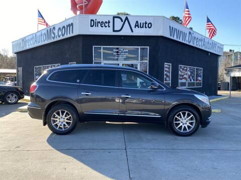 2016 Buick Enclave for sale at Direct Auto in D'Iberville MS