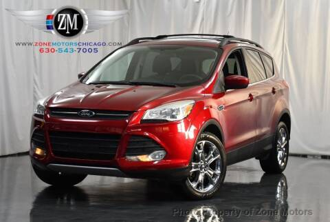 2013 Ford Escape for sale at ZONE MOTORS in Addison IL
