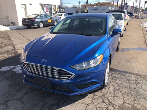 2017 Ford Fusion for sale at National Auto Sales Inc. - Hazel Park Lot in Hazel Park MI