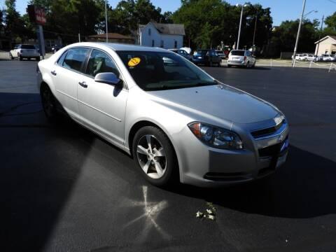 2012 Chevrolet Malibu for sale at Grant Park Auto Sales in Rockford IL