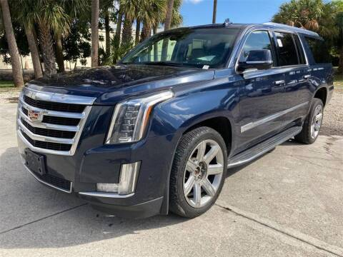 2018 Cadillac Escalade ESV for sale at Florida Fine Cars - West Palm Beach in West Palm Beach FL