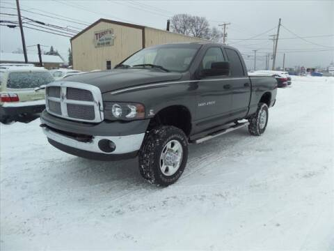 2004 Dodge Ram Pickup 2500 for sale at Terrys Auto Sales in Somerset PA