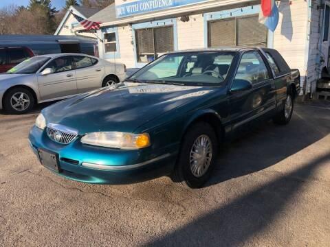 1996 Mercury Cougar for sale at Lucien Sullivan Motors INC in Whitman MA
