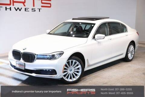 2017 BMW 7 Series for sale at Fishers Imports in Fishers IN