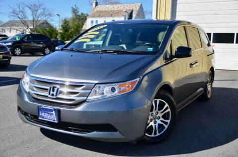 2013 Honda Odyssey for sale at Lighthouse Motors Inc. in Pleasantville NJ