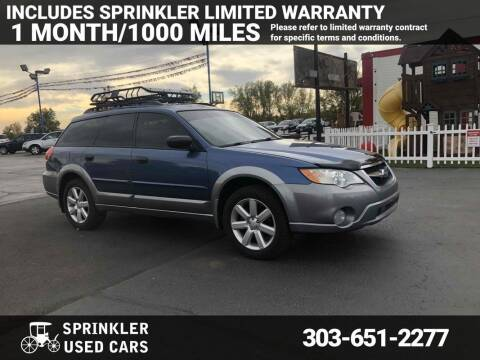 2009 Subaru Outback for sale at Sprinkler Used Cars in Longmont CO
