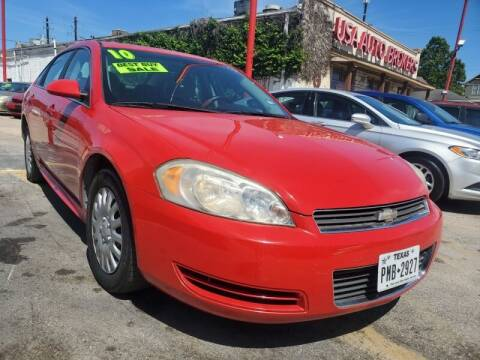 2010 Chevrolet Impala for sale at USA Auto Brokers in Houston TX