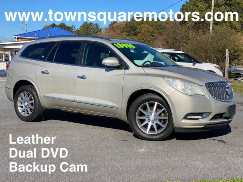 2014 Buick Enclave for sale at Town Square Motors in Lawrenceville GA
