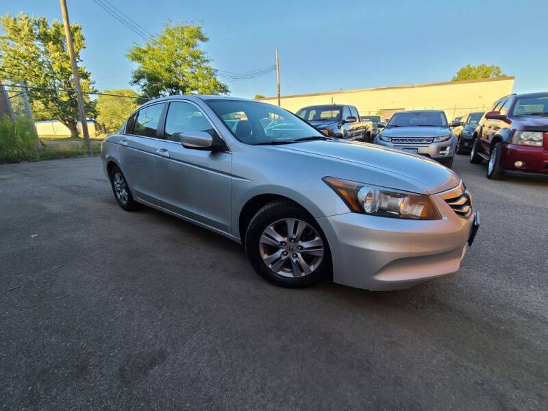 2012 Honda Accord for sale at Minnesota Auto Sales in Golden Valley MN