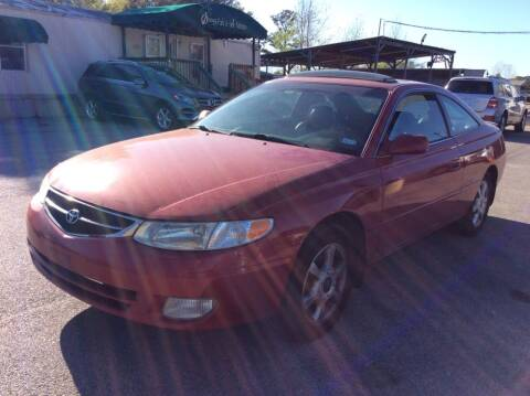2001 Toyota Camry Solara for sale at OASIS PARK & SELL in Spring TX