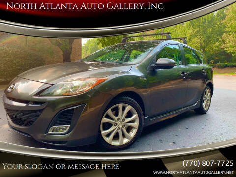 2011 Mazda MAZDA3 for sale at North Atlanta Auto Gallery, Inc in Alpharetta GA
