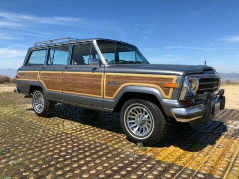 1991 Jeep Wagoneer for sale at Classic Car Deals in Cadillac MI