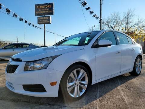 2011 Chevrolet Cruze for sale at AI MOTORS LLC in Killeen TX