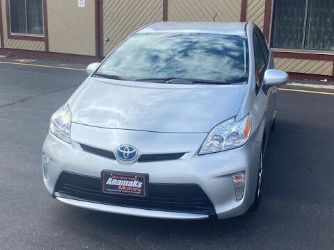 2012 Toyota Prius for sale at Anamaks Motors LLC in Hudson NH