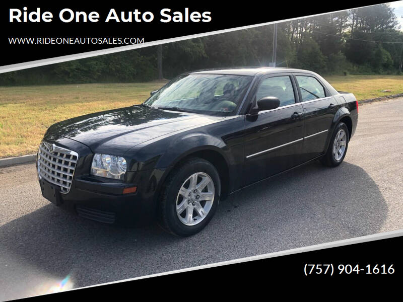 2007 Chrysler 300 for sale at Ride One Auto Sales in Norfolk VA