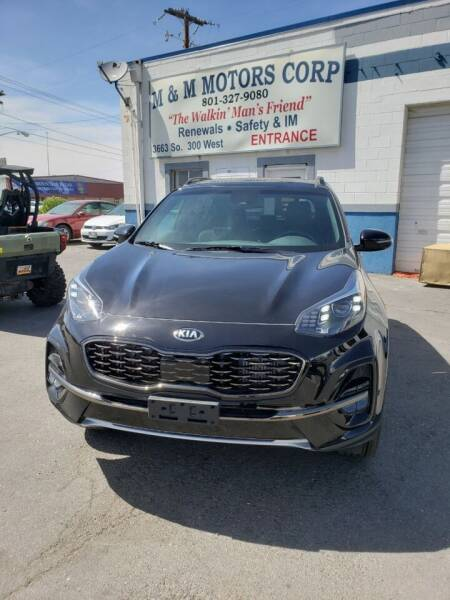 2020 Kia Sportage for sale at M&M Motors in Salt Lake City UT