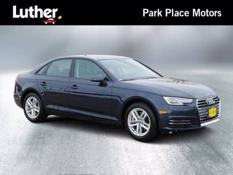 2017 Audi A4 for sale at Park Place Motor Cars in Rochester MN