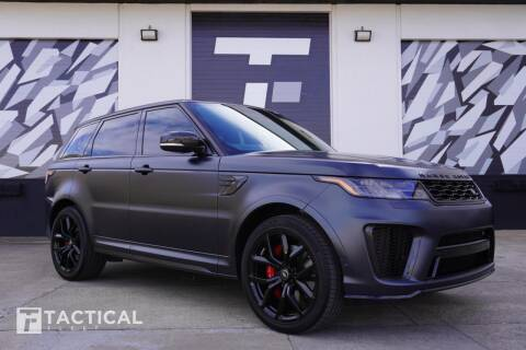 2020 Land Rover Range Rover Sport for sale at Tactical Fleet in Addison TX