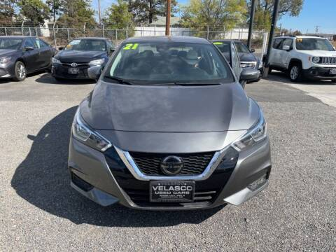 2021 Nissan Versa for sale at Velascos Used Car Sales in Hermiston OR