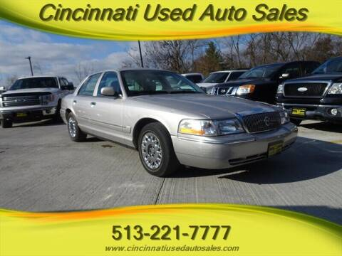 2004 Mercury Grand Marquis for sale at Cincinnati Used Auto Sales in Cincinnati OH