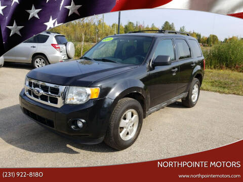 2011 Ford Escape for sale at Northpointe Motors in Kalkaska MI