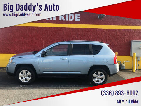 2013 Jeep Compass for sale at Big Daddy's Auto in Winston-Salem NC