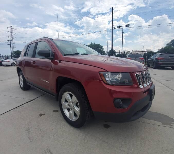 2014 Jeep Compass for sale at Julian Auto Sales, Inc. in Warren MI