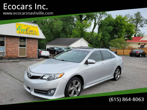 2012 Toyota Camry for sale at Ecocars Inc. in Nashville TN