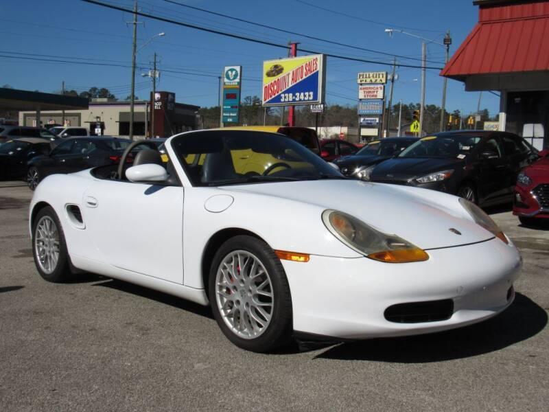 1998 Porsche Boxster for sale at Discount Auto Sales in Pell City AL