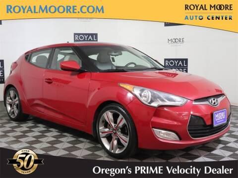 2012 Hyundai Veloster for sale at Royal Moore Custom Finance in Hillsboro OR