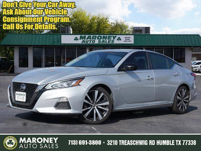 2019 Nissan Altima for sale at Maroney Auto Sales in Humble TX