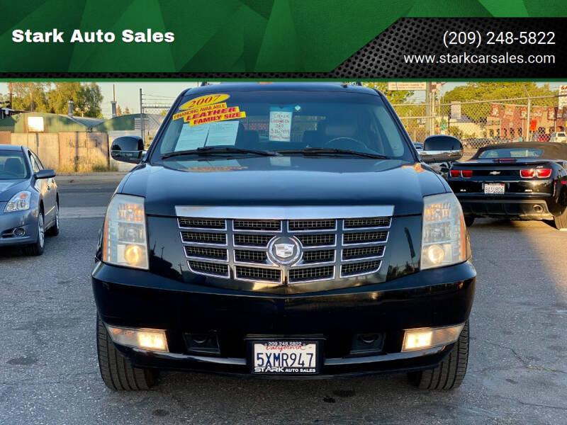 2007 Cadillac Escalade ESV for sale at Stark Auto Sales in Modesto CA