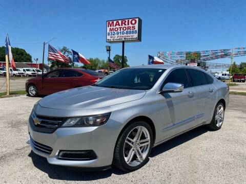 2015 Chevrolet Impala for sale at Mario Motors in South Houston TX