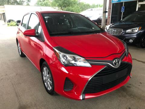2015 Toyota Yaris for sale at Divine Auto Sales LLC in Omaha NE