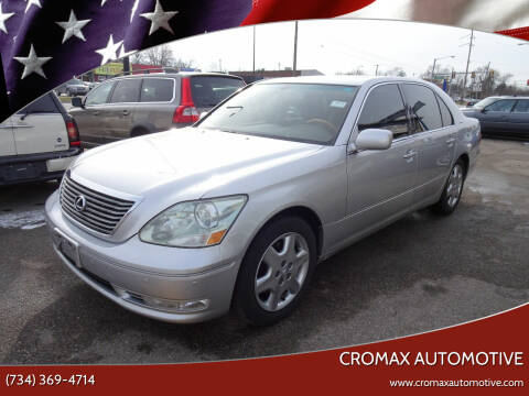 2005 Lexus LS 430 for sale at Cromax Automotive in Ann Arbor MI