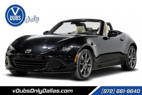 2016 Mazda MX-5 Miata for sale at VDUBS ONLY in Dallas TX
