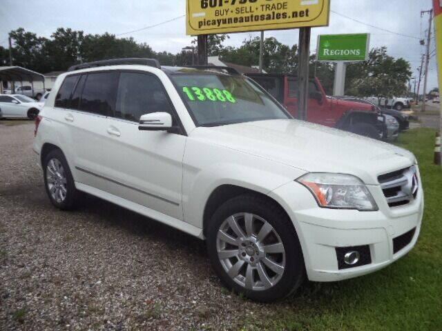 2012 Mercedes-Benz GLK for sale at PICAYUNE AUTO SALES in Picayune MS