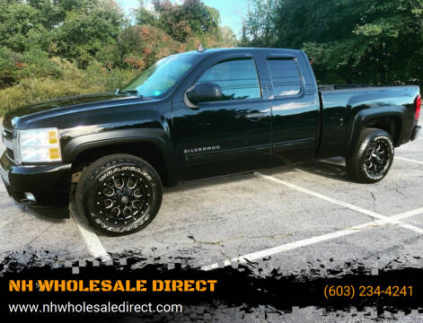 2011 Chevrolet Silverado 1500 for sale at NH WHOLESALE DIRECT in Derry NH