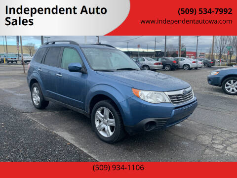 2010 Subaru Forester for sale at Independent Auto Sales #2 in Spokane WA