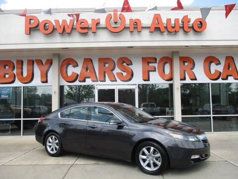 2012 Acura TL for sale at Power On Auto LLC in Monroe NC