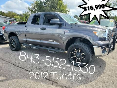 2012 Toyota Tundra for sale at Rodgers Enterprises in North Charleston SC