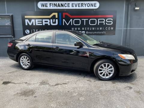2010 Toyota Camry for sale at Meru Motors in Hollywood FL