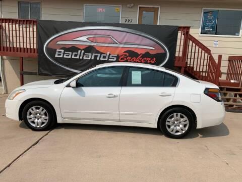 2010 Nissan Altima for sale at Badlands Brokers in Rapid City SD