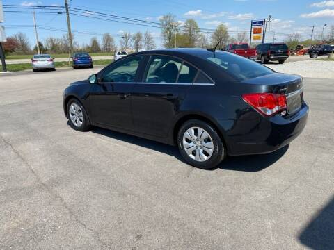 2012 Chevrolet Cruze for sale at Wildfire Motors in Richmond IN